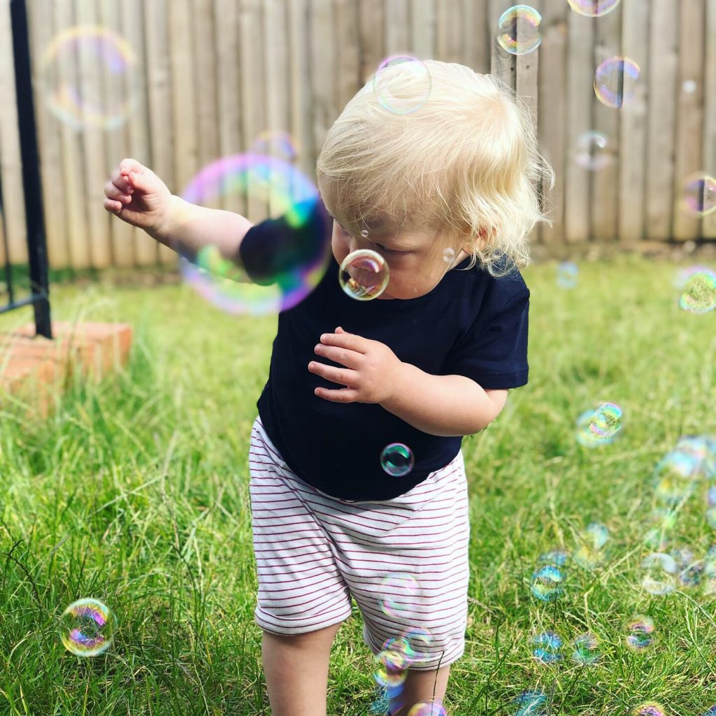 Time (and bubbles)