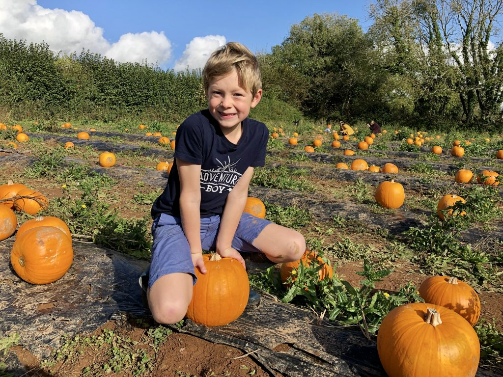 Half term adventures. Mostly involving pumpkins.