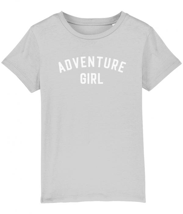 Adventure Girl Tee - Heather Grey