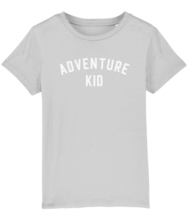 Adventure Kid tee heather grey