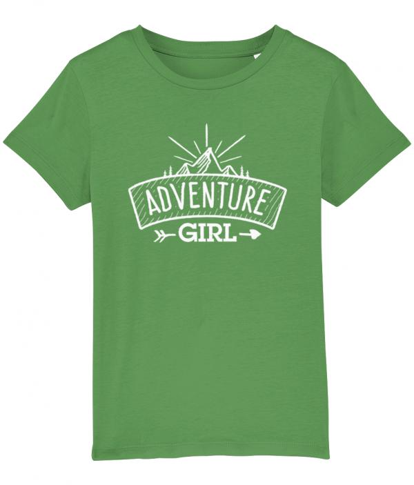 Classic Adventure Girl Logo Tee