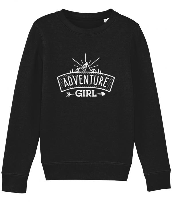 Classic Adventure Girl Logo Sweatshirt
