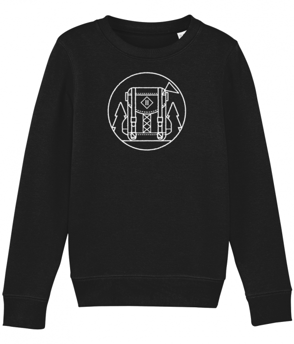 AB Backpack Badge Icon Sweatshirt