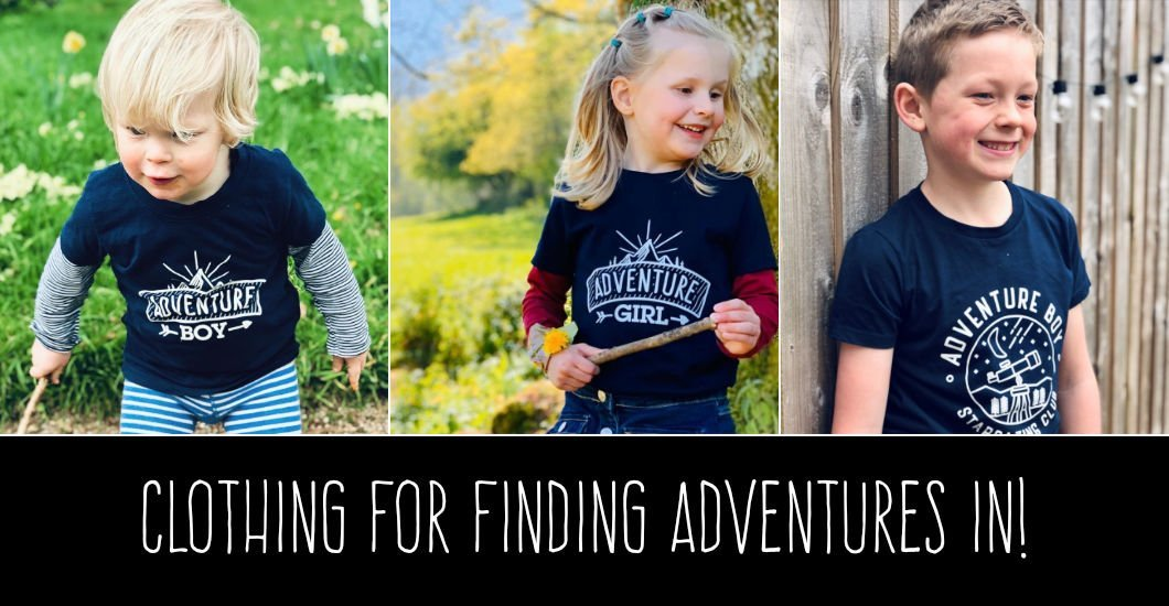 Adventure Boy - Clothing for finding Adeventures
