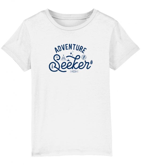 Adventure seeker tee white