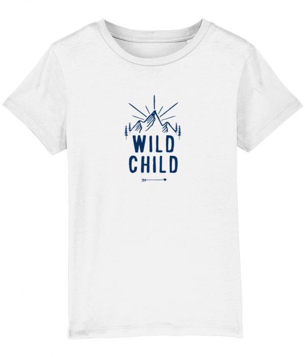 Wild Child tee white