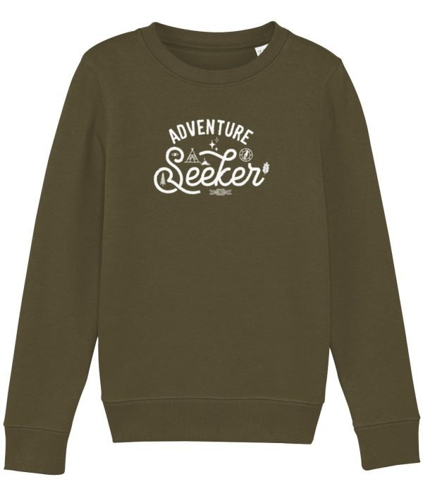 Adventure Seeker sweatshirt british khaki