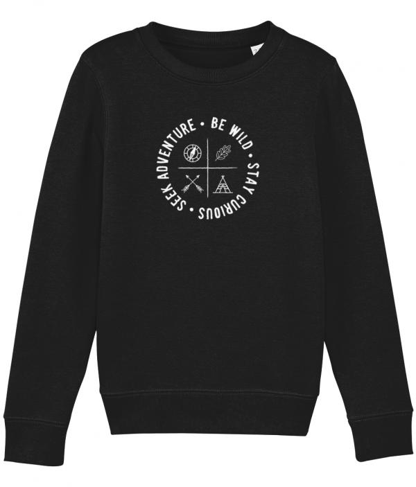 Be Wild Badge Sweatshirt