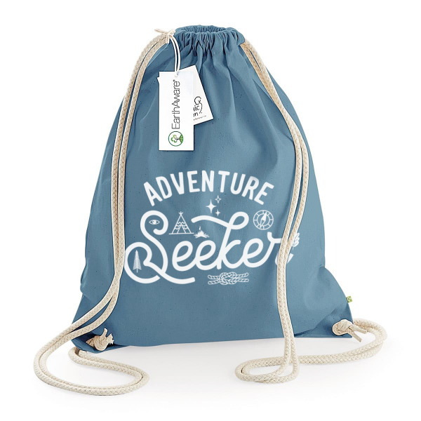 Adventure Seeker Draw String Bag