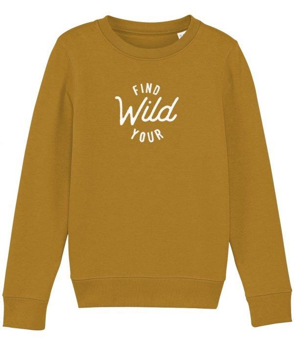 Find your wild sweatshirt