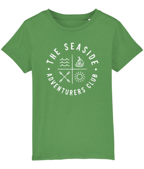 Seaside Adventure Club Kids T-Shirt